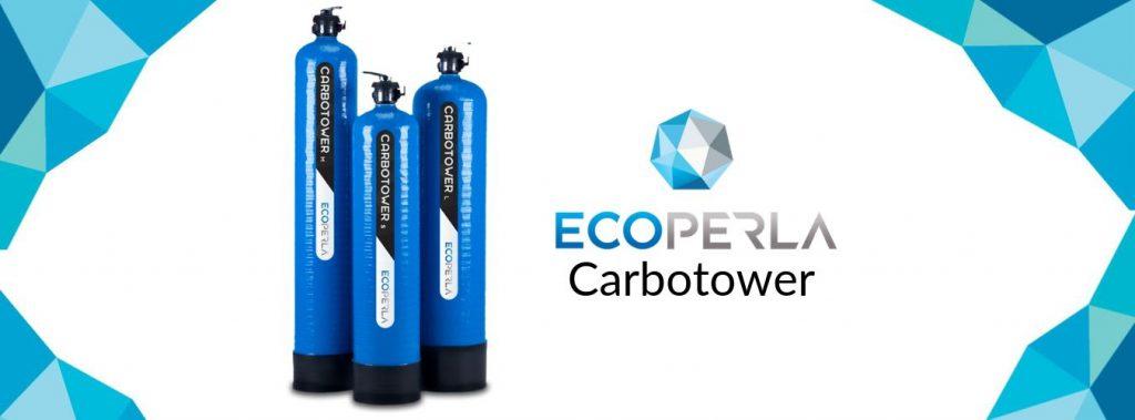 kolumna węglowa z kokosowym węglem aktywnym Ecoperla Carbotower